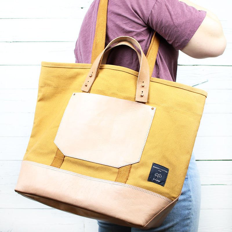 East West Bucket Tote