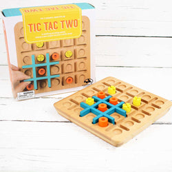 FINAL SALE Tic Tac Two Wooden