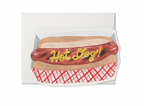 Hot Dog Everyday Card