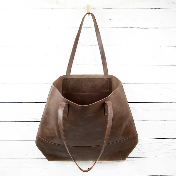 Mamuye Tote Bag - Chocolate Brown