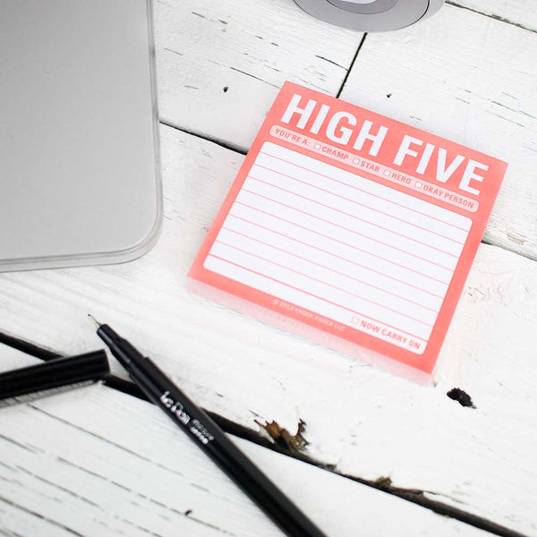 Sticky Note - High Five