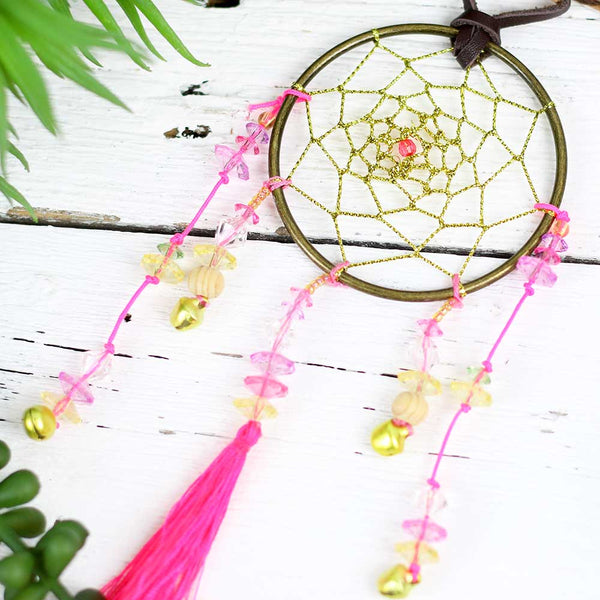 "Natural Life Car Charm ""Dream Catcher"""