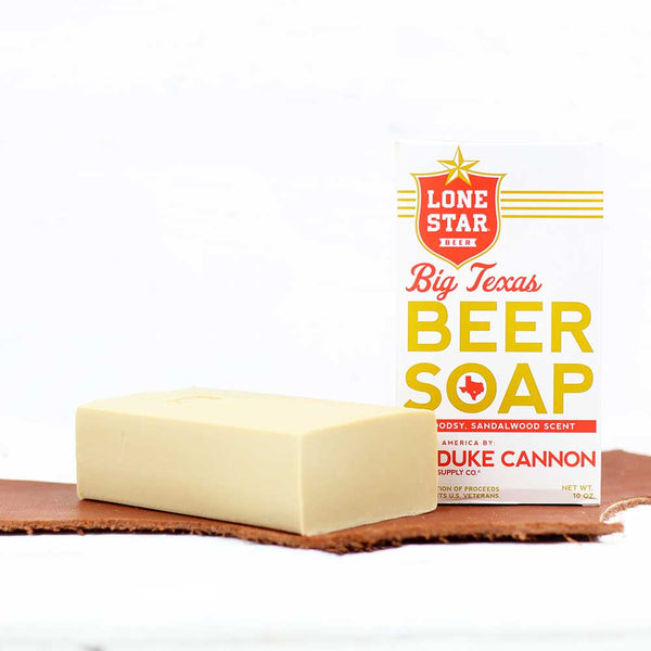 Big Texas Lone Star Beer Soap