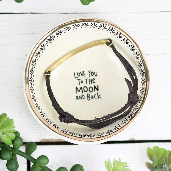"Giving Trinket Bowl ""Moon & Back"""