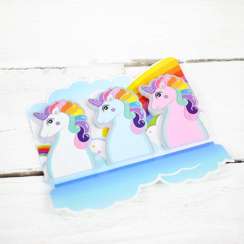 Streamline Rainbow Unicorn Memo Tabs