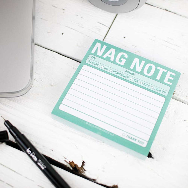 Sticky Note: Nag Note