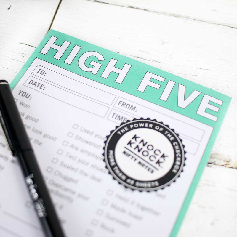 Nifty Note: High Five