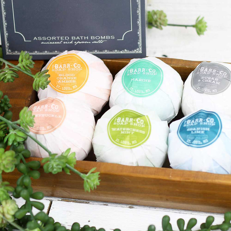 6pc Assorted Bath Bomb Set