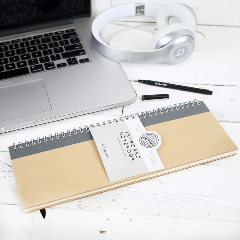 WritersBlok Spiral Notebook - Kraft