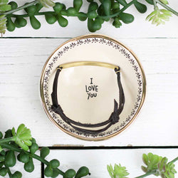 "Giving Trinket Bowl ""I Love You"""