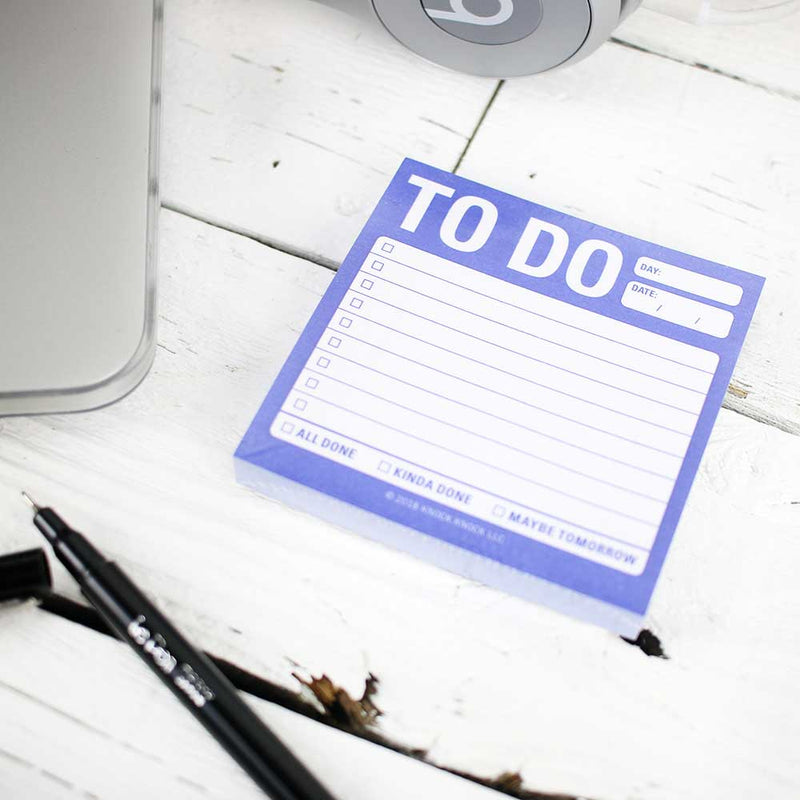 Sticky Note: To Do