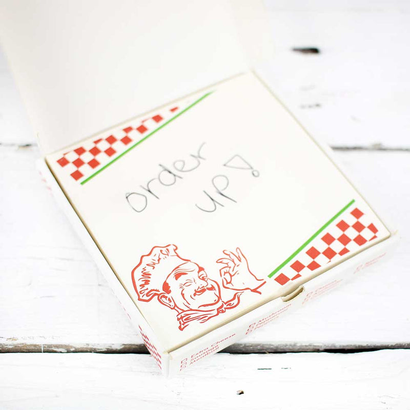 FINAL SALE Kikkerland Pizza Notepad