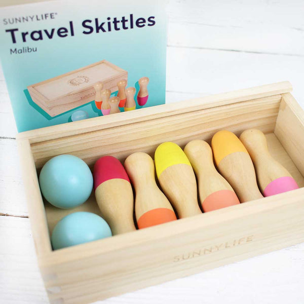 FINAL SALE Travel Skittles Malibu Set of 6