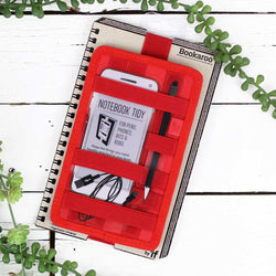 Bookaroo Notebook Tidy - Red