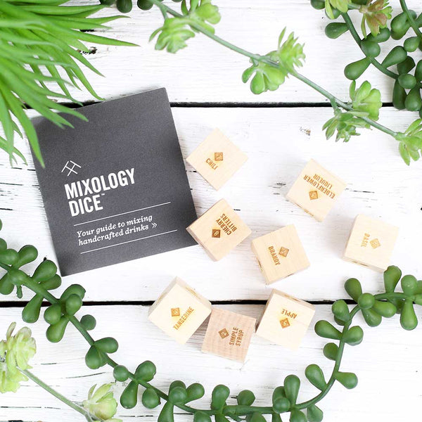 FINAL SALE Two Tumbleweeds Mixology Dice