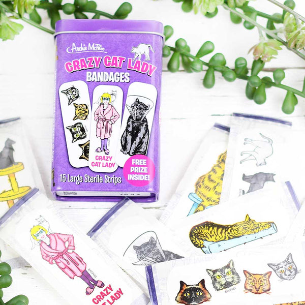 Accoutrements Crazy Cat Lady Bandages