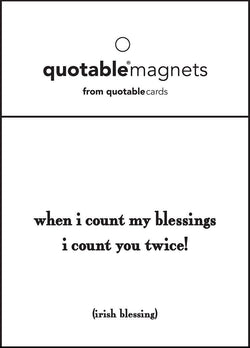 Magnet - Count My Blessings