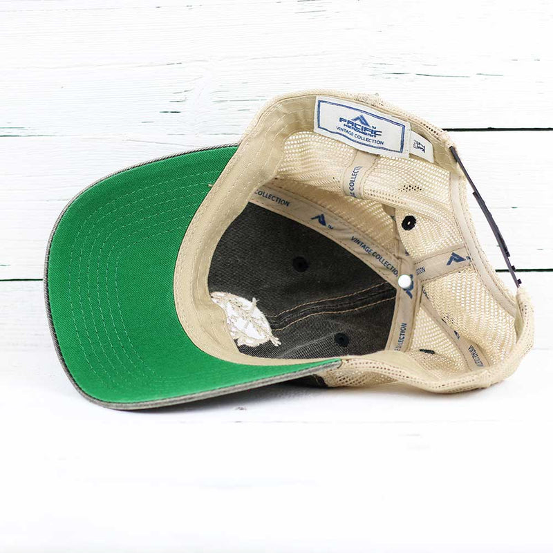 Osage Shield Broken-In Mesh Trucker Snapback