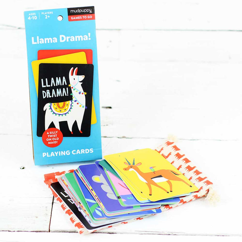 Llama Drama Playing Cards to Go