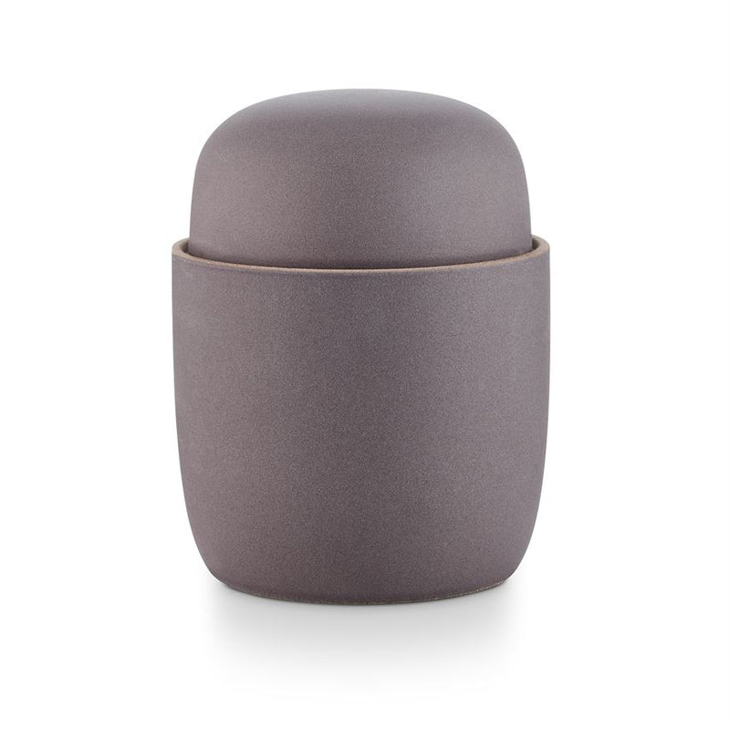 Cypress Lavender Round Lidded Ceramic Candle