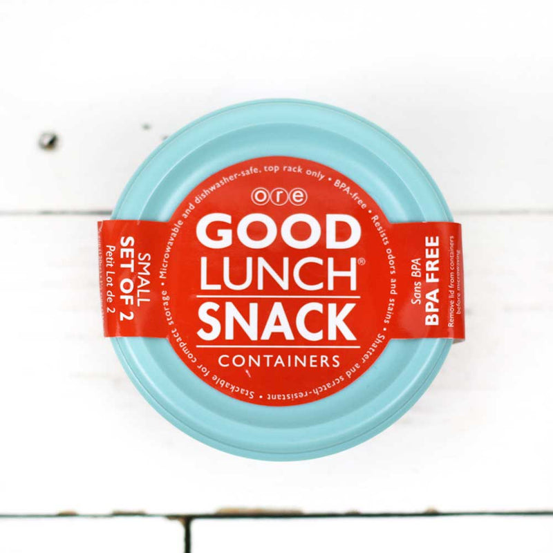 FINAL SALE Good Lunch Containers Small Ocean