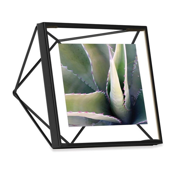 Prisma Photo Frame - 4x4 Black