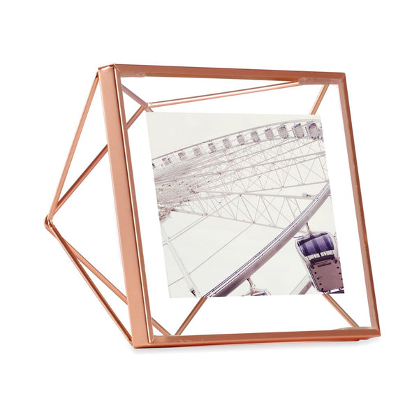 Prisma Photo Frame - 4x4 Copper