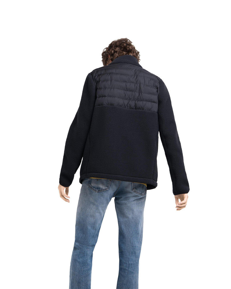 Hybrid Sherpa Full Zip Jacket Mens