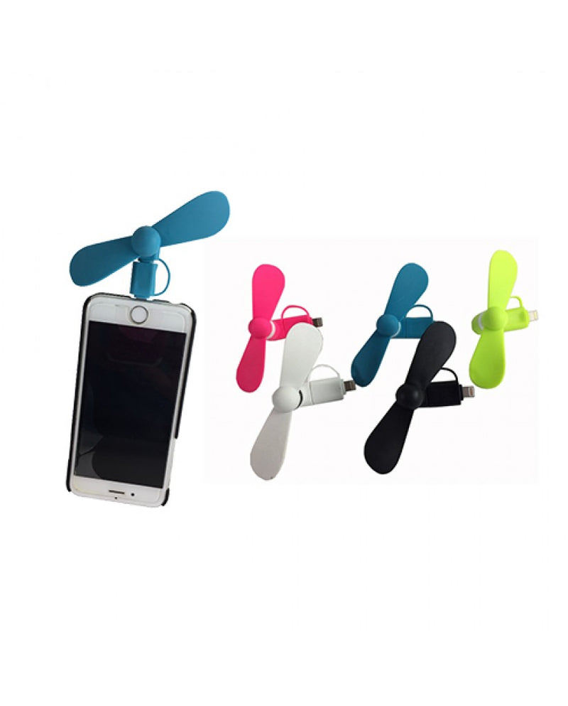 USB Bright Colored Phone Fan