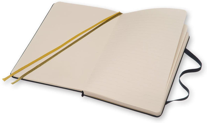 Two-Go Plain/Ruled Medium Notebook - Oriental Blue