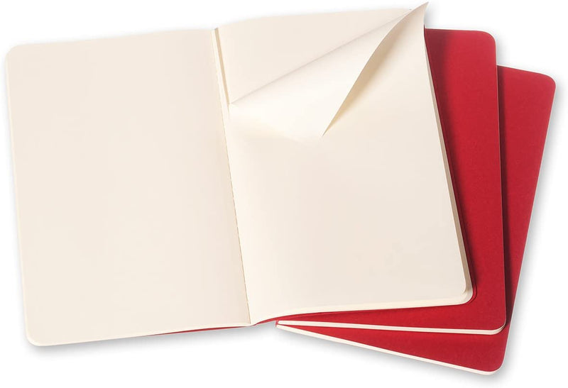Cahier Large Plain Journal - Cranberry Red