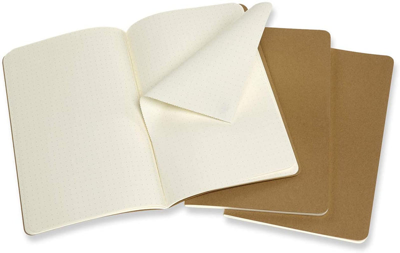 Cahier Large Dotted Journal - Kraft Brown