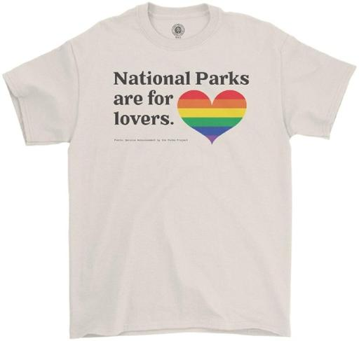 Parks for Lovers Pride Tee