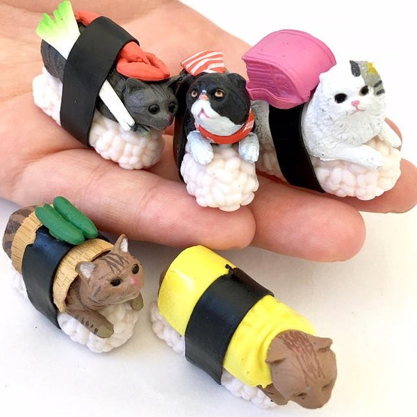 Sushi Cat Figurines