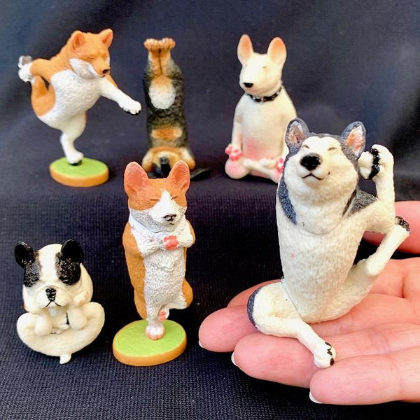 Yoga Dog Figurines