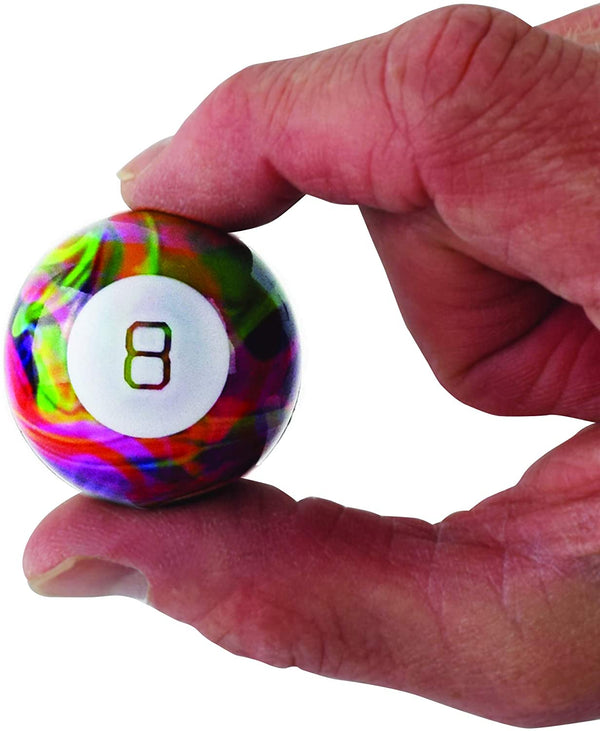 World's Smallest Tie Dye Magic Eight Ball