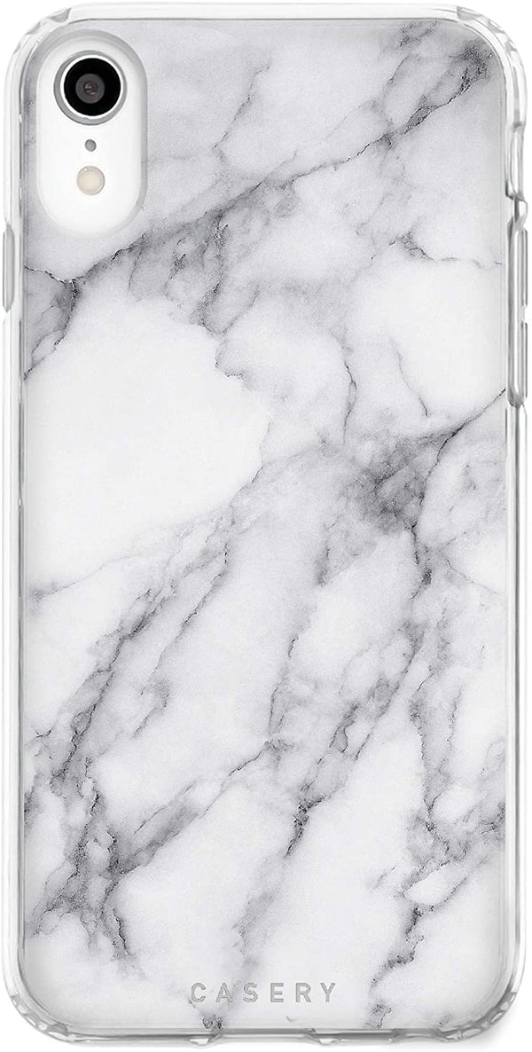 New White Marble iPhone Case