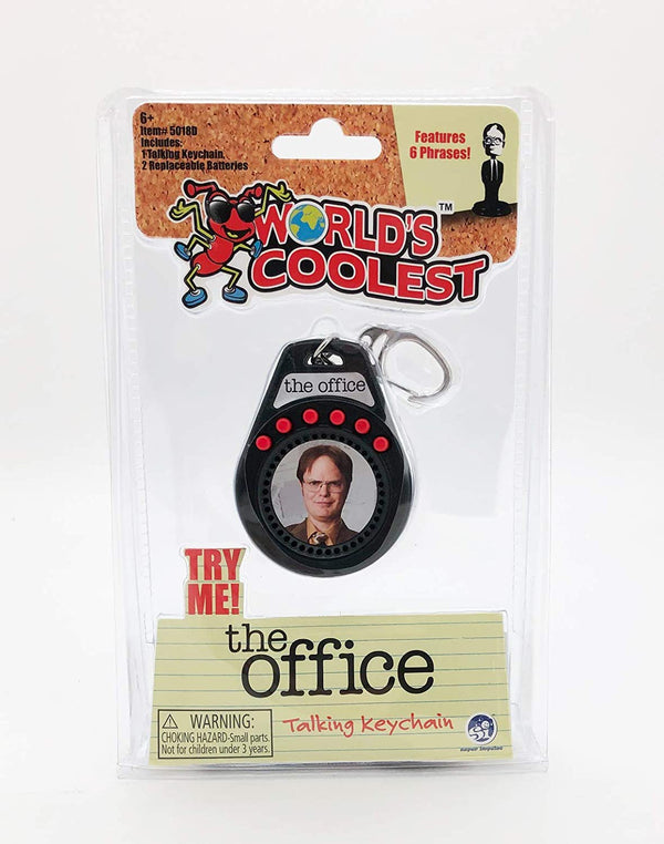 World's Coolest The Office Keychain - Dwight