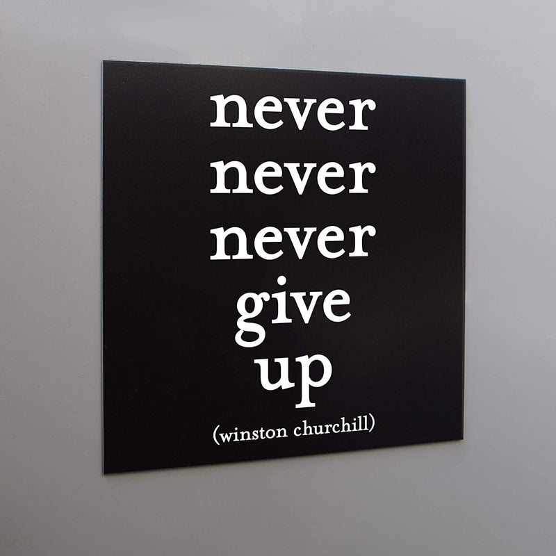 Magnet - Churchill - Never Never Never Give Up