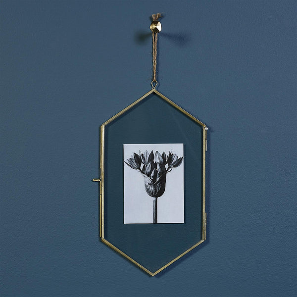 Homart Monroe Geo Brass Wall Frame - Medium