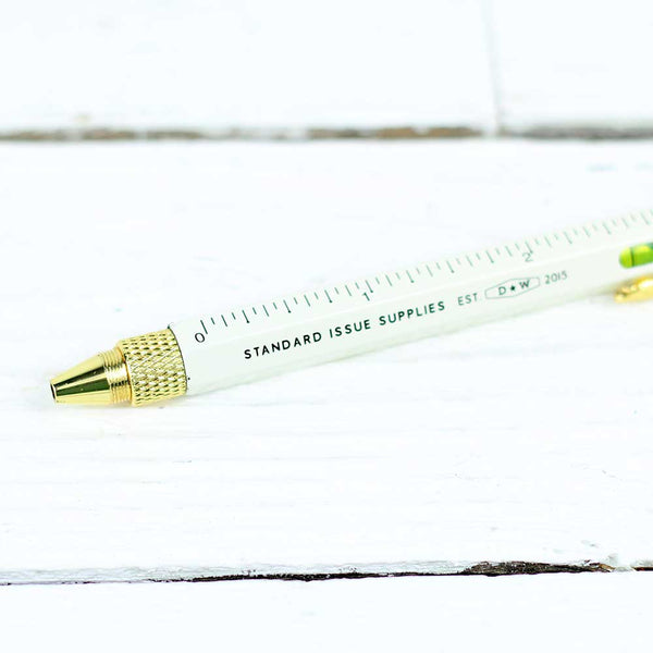 Standard Issue Multi-Tool Pen - Cream