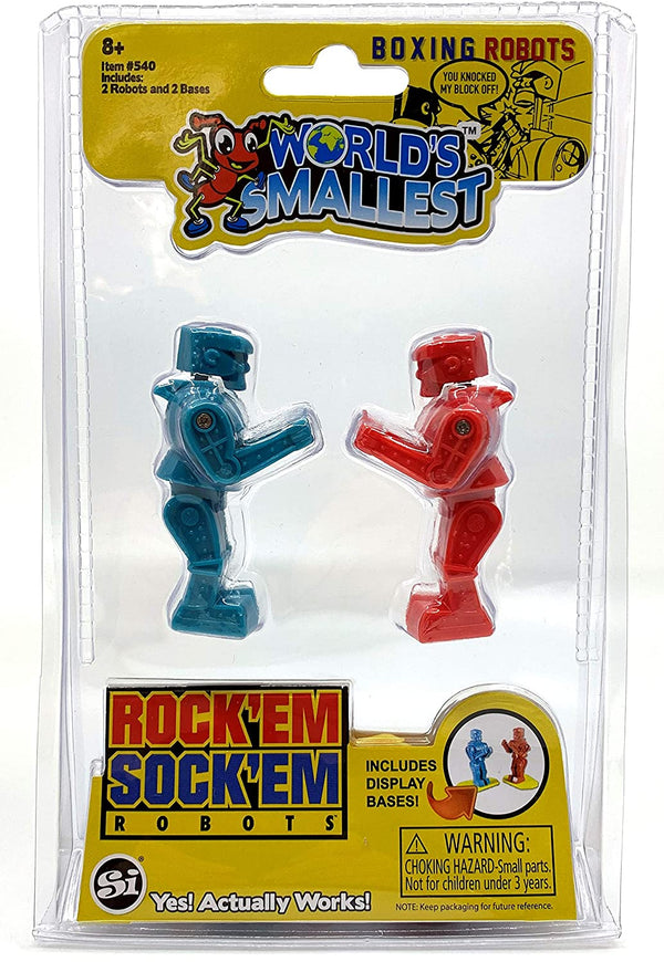 World's Smallest Rock 'Em Sock 'Em Robots