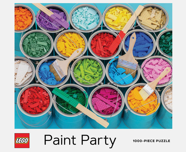 Lego Paint Party 1000 PC Puzzle