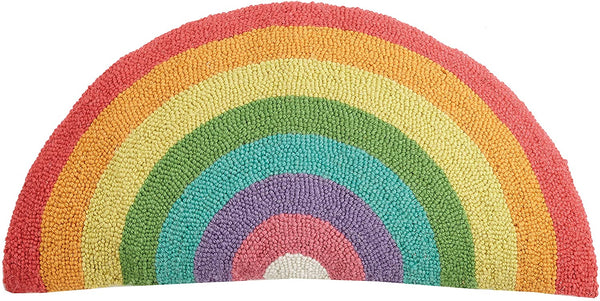 Rainbow Shaped Hook Pillow 12x24