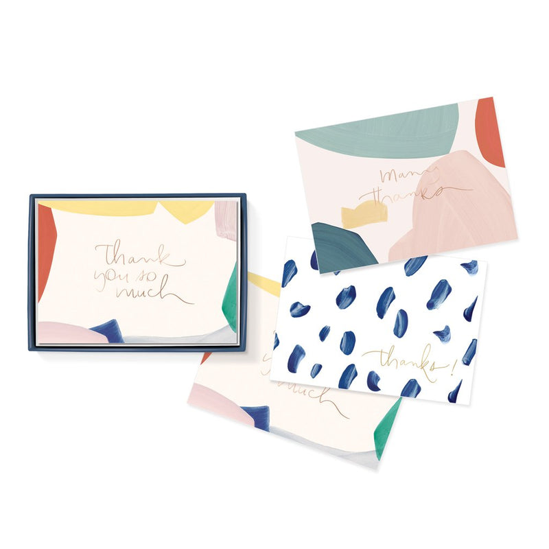 Canvas Shape Thank You Notecards
