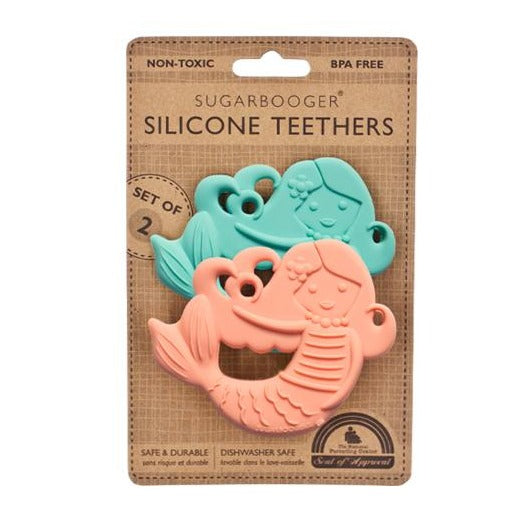 Silicone Teether S/2 Mermaid