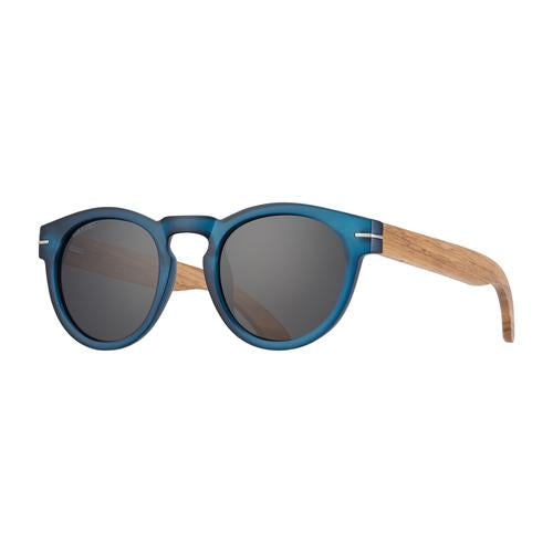 Cortez - Frost Blue/Walnut Wood/Smoke Polarized