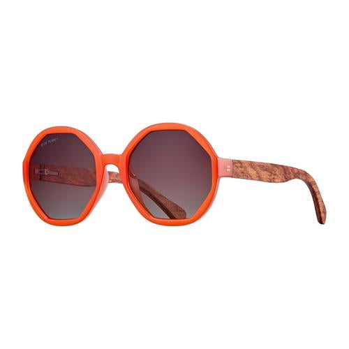 Donna - Orange/Walnut Wood/Gradient Brown Polarized