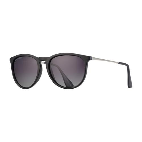 Kelsea - Matte Black/Matte Silver/Gradient Smoke Polarized
