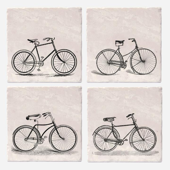 Old-Timey Bicycle Coasters